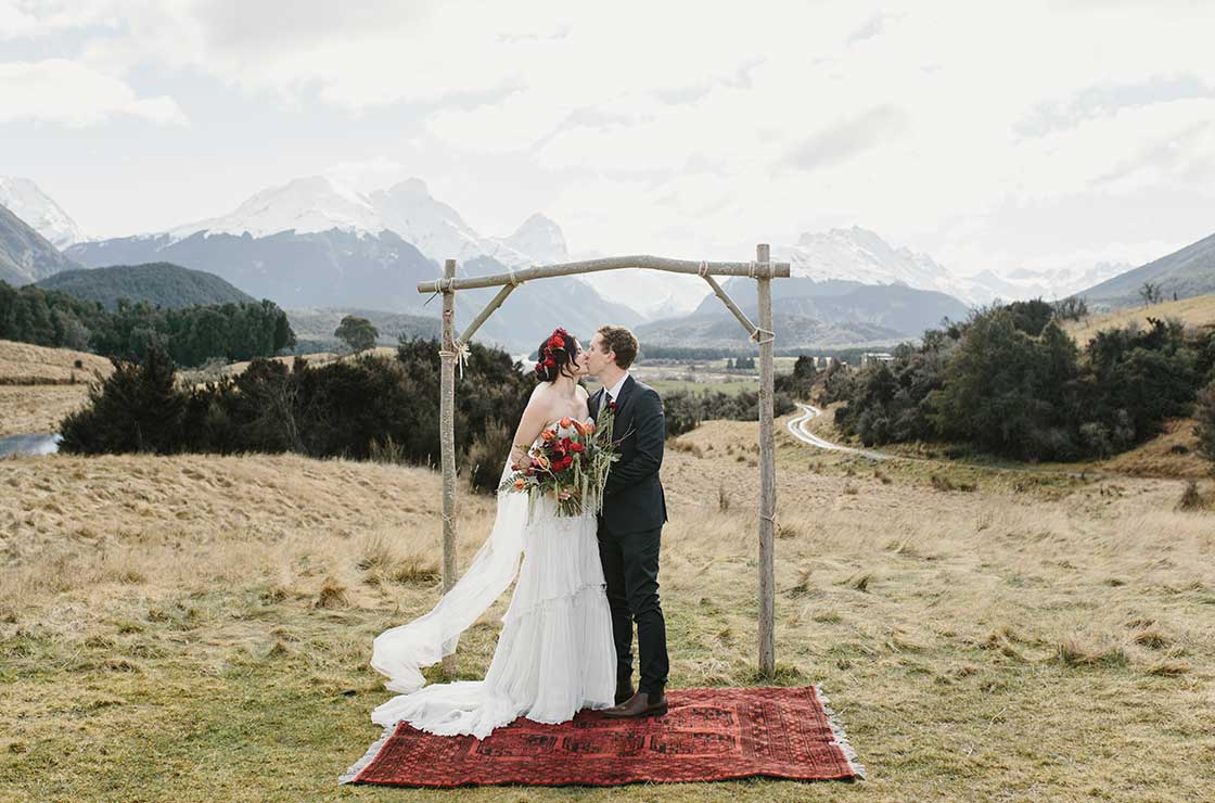 Queenstown Elopement at the Head of the Lake