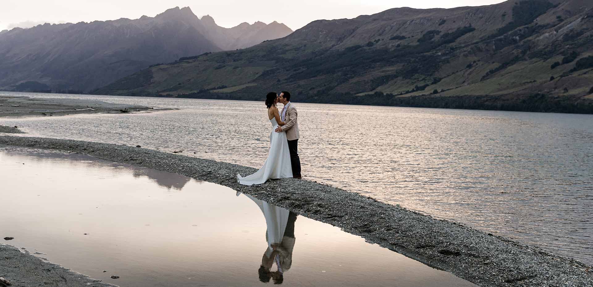 Head of the Lake elopement packages Photo by Susan Miller Photography